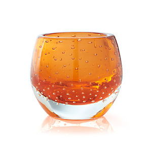 Pop Orange Candleholder