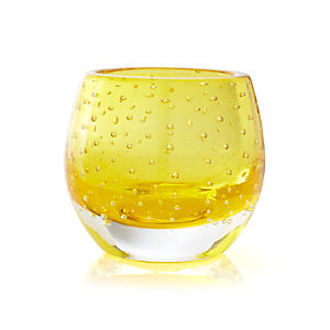 Pop Yellow Tealight Holder
