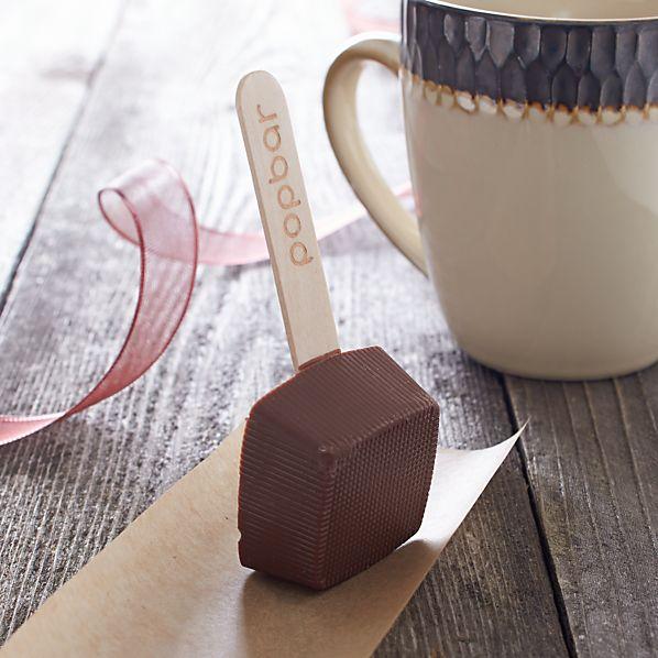 Hot Milk Chocolate on a Stick