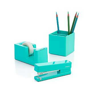 Poppin® Aqua Office Accessories