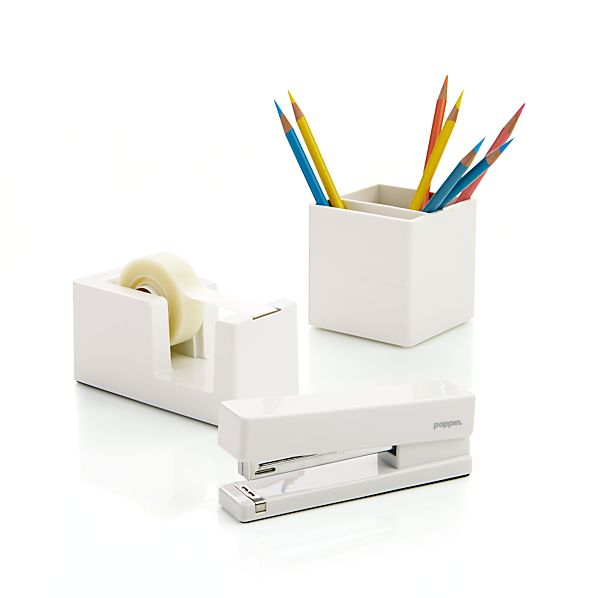 Poppin® White Office Accessories
