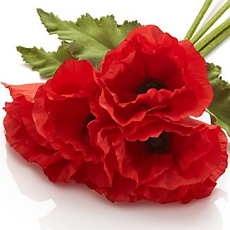 Poppy Artificial Flowers