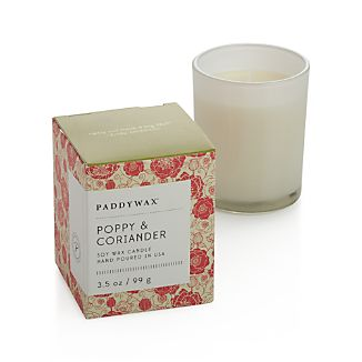 Poppy and Coriander Scented Candle