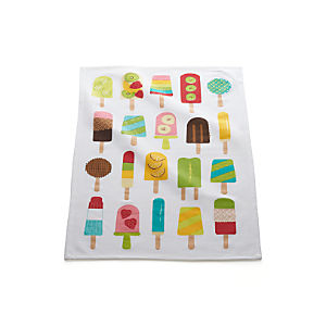 Frozen Pops Dishtowel