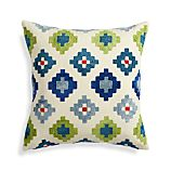 "Posner 20"" Pillow with Down-Alternative Pillow"