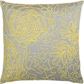 Posy Yellow 18 Pillow