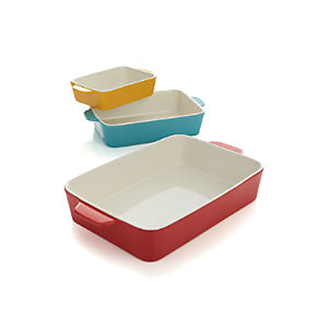 Set of 3 Potluck Bakers