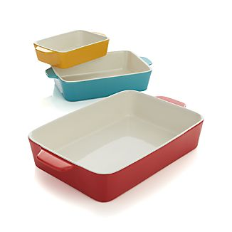 Potluck Baking Dishes Set of Three