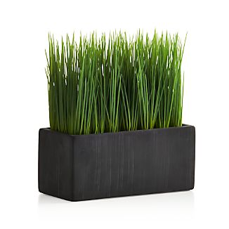 Large Potted Artificial Grass
