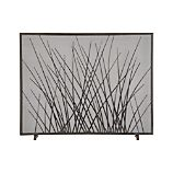 Prairie Grass Fireplace Screen