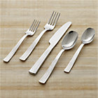 Prairie 20-Piece Flatware Set: four 5-piece place settings.
