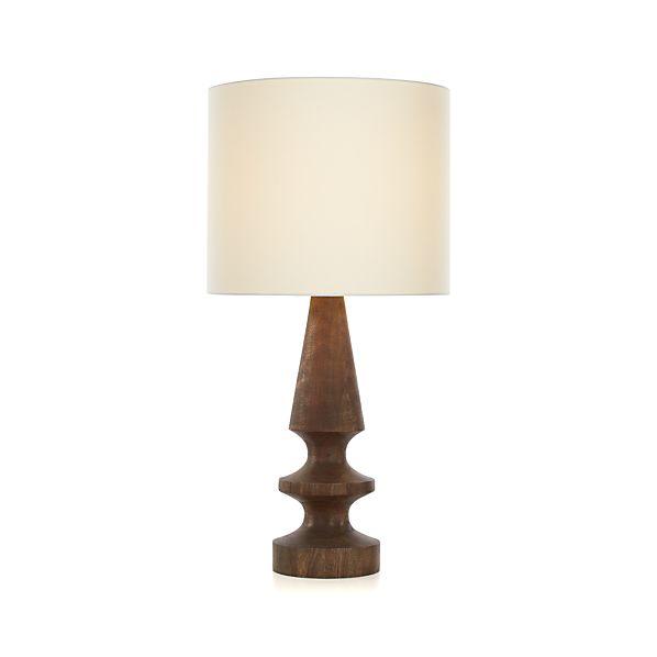 pratt table lamp crate and barrel. Black Bedroom Furniture Sets. Home Design Ideas