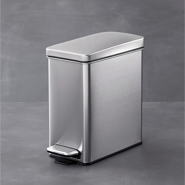 simplehuman ® Profile 2.6-Gallon Step Trash Can