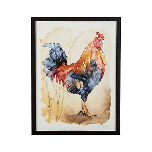 Proud Rooster Print