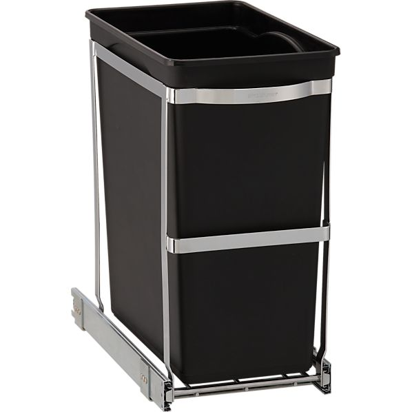 simplehuman® Pull Out Trash Can