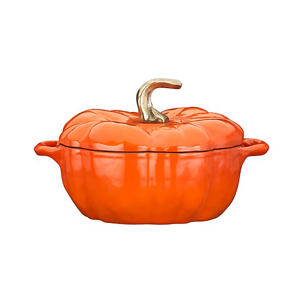 Staub® 3.5 qt. Pumpkin Covered Casserole