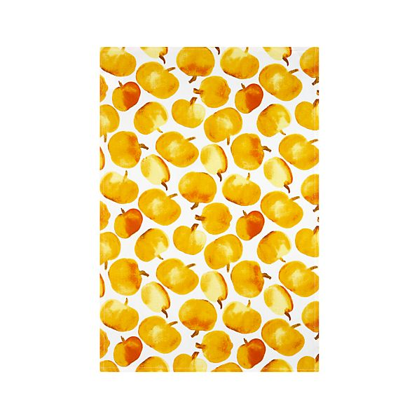 Pumpkin Dishtowel