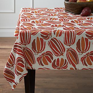 "Pumpkin Patch 60""x90"" Tablecloth"