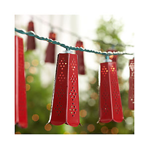 Punched Tin String Lights
