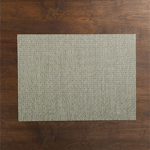 Chilewich ® Purl Silver Placemat