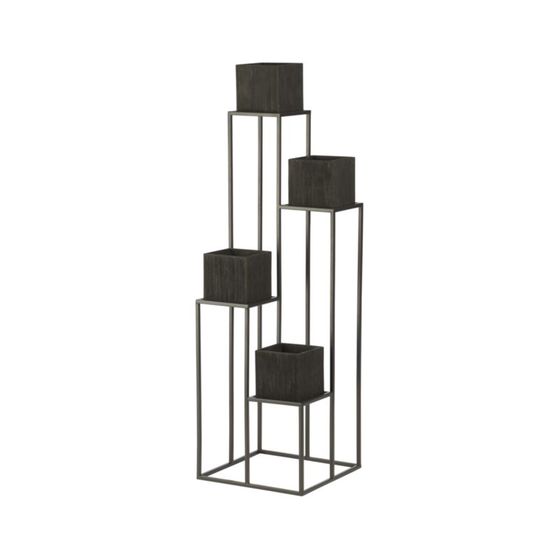 Quadrant Plant Stand by Crate and Barrel
