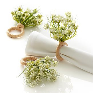 Queen Anne's Lace Napkin Ring