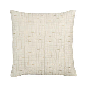 Quilted Silk 18 Pillow