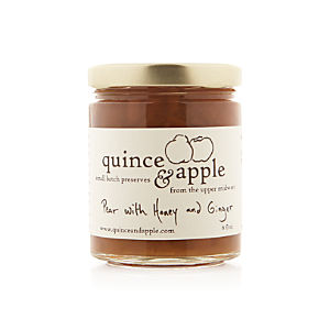 Quince & Apple Pear with Honey and Ginger Preserves