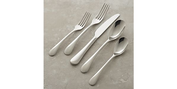 Flatware Patterns: Stainless Steel | Crate and Barrel