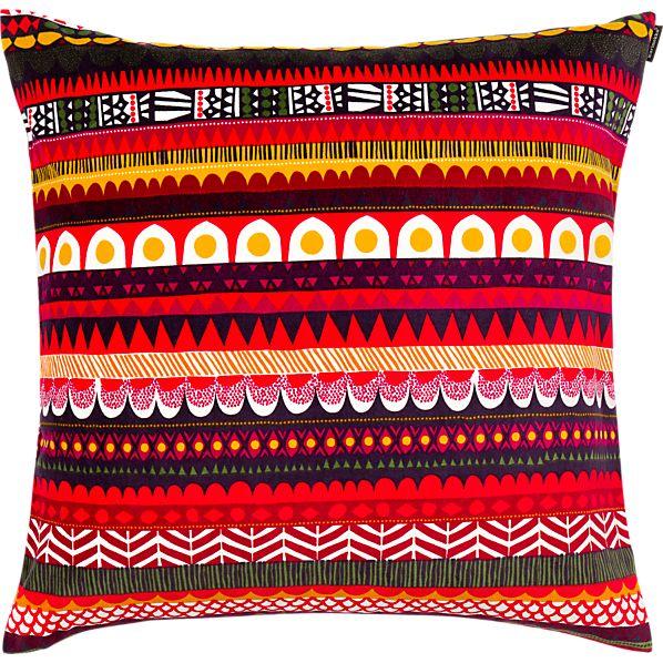 """Marimekko Raanu 20"""" Pillow"""