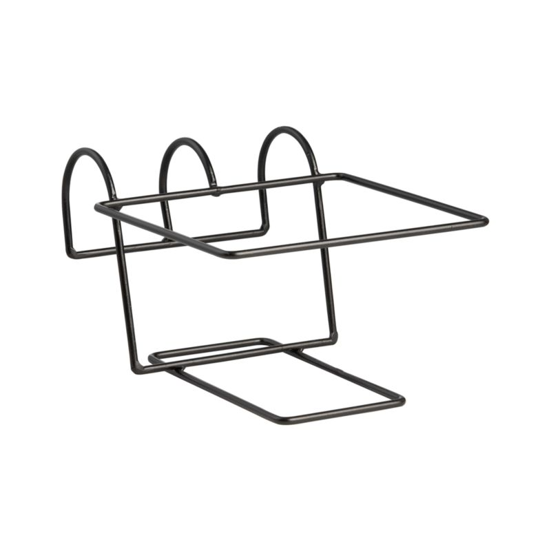 """Optional iron hook for our Zinc Square Rail Planter easily affixes to railings or fences up to 2"""" wide. Finish will weather naturally.<br /><br /><NEWTAG/><ul><li>Welded iron rod rail hook with powdercoat finish</li><li>Made in Vietnam</li></ul><br />"""