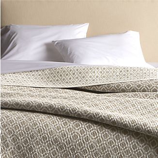 Raj Khaki King Reversible Quilt