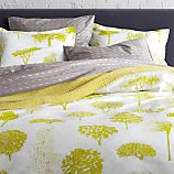 Marimekko Rantapuisto Citron Full/Queen Duvet Cover