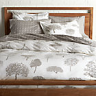 Marimekko Rantapuisto Grey Full/Queen Duvet Cover.