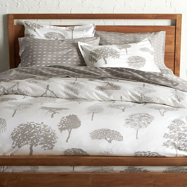 Marimekko Rantapuisto Grey Full/Queen Duvet Cover