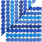 Set of 20 Marimekko Räsymatto Blue and White Paper Napkins.