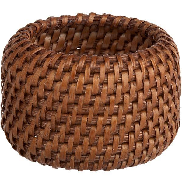 Rattan Napkin Ring