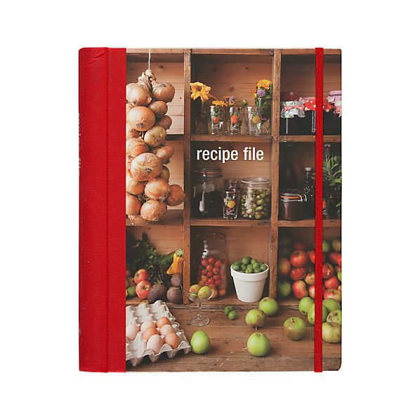 Recipe File and Cookbook