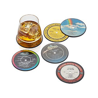 Record Coasters Set of Six