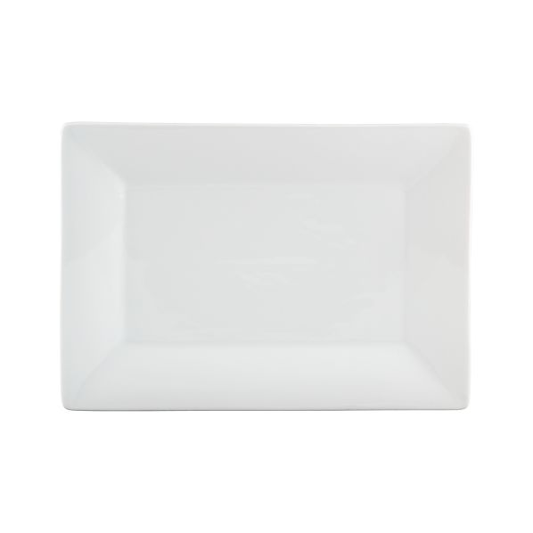 "Rectangular Rim 11.75""x8.25"" Small Platter"