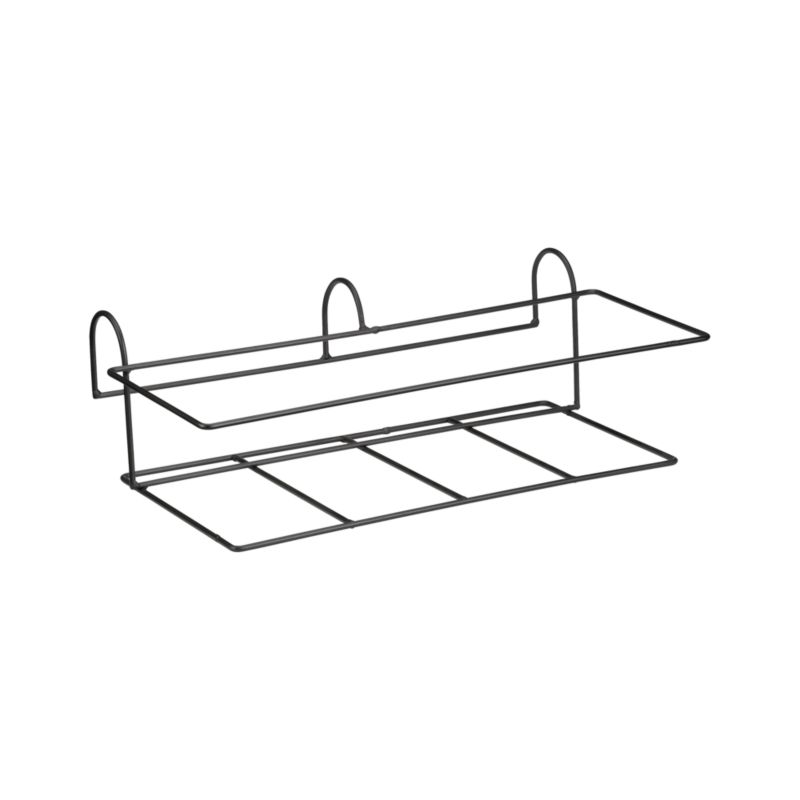 "Optional iron hook compliments our Zinc Rectangular Planter and easily affixes to railings or fences up to 2.75"" wide.<br /><br /><NEWTAG/><ul><li>Iron with powdercoat finish</li><li>Accommodates rails up to 2.75"" wide</li><li>Made in Vietnam</li></ul>"