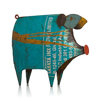 Recycled Metal Pig