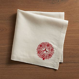 Red Birds Napkin