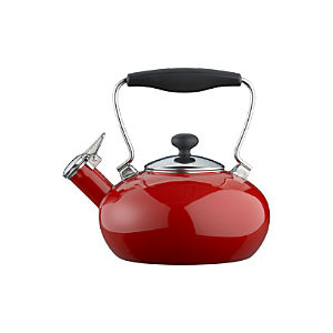 Chantal® Red Bridge Teakettle