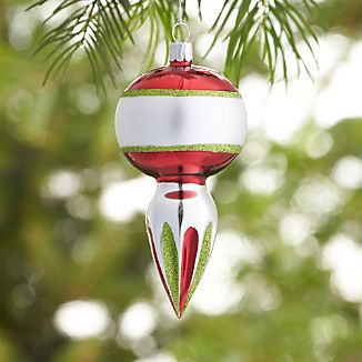 Retro Bubble Drop Ornament