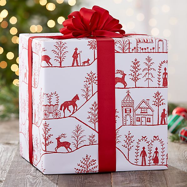 Winter Village Wrapping Paper