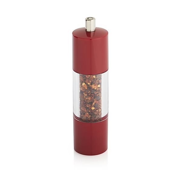 Red Pepper Mill Crate And Barrel