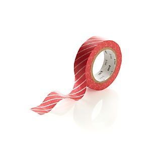 Red Stripe Washi Tape