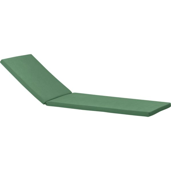 Regatta Sunbrella® Bottle Green Chaise Lounge Cushion