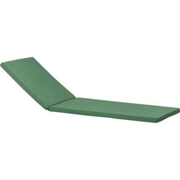 Regatta Sunbrella ® Bottle Green Chaise Lounge Cushion